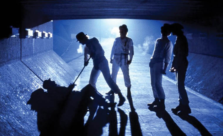 "Backlighting in the Stanley Kubrick movie ""A Clockwork Orange'"