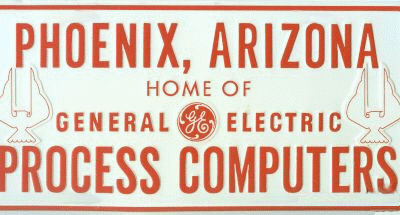 Plaque for the General Electric Peoria Avenue plant in Phoenix, Arizona
