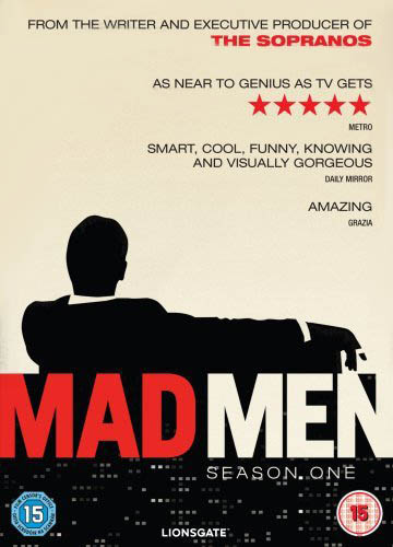 DVD cover of the TV series 'Mad Men' (season 1)