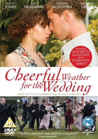 DVD cover of the Donald Rice movie 'Cheerful Weather for the Wedding'