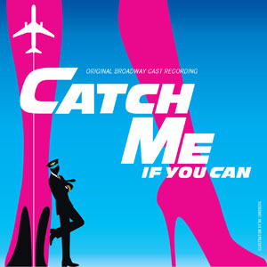 Booklet cover of musical CD 'Catch Me If You Can'