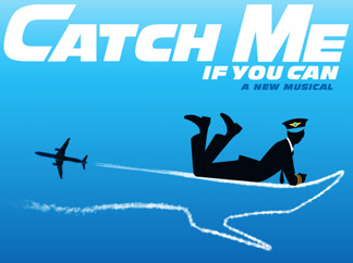 Official poster of musical 'Catch Me If You Can'