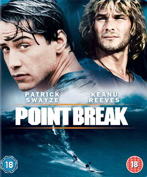 Movie poster of the Kathryn Bigelow movie 'Point Break'