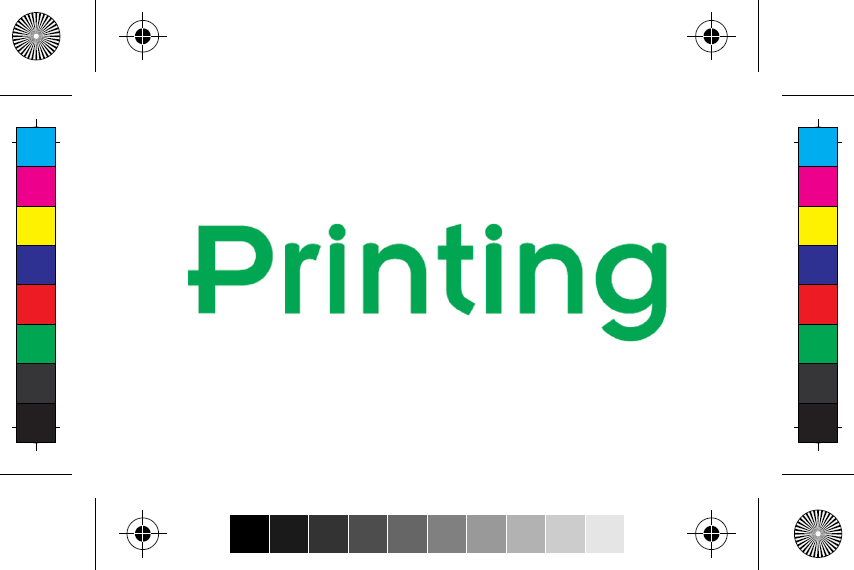 Crop marks on printing proof