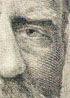 Detail of U.S. Grant engraving on $50 bank note (bad scan)