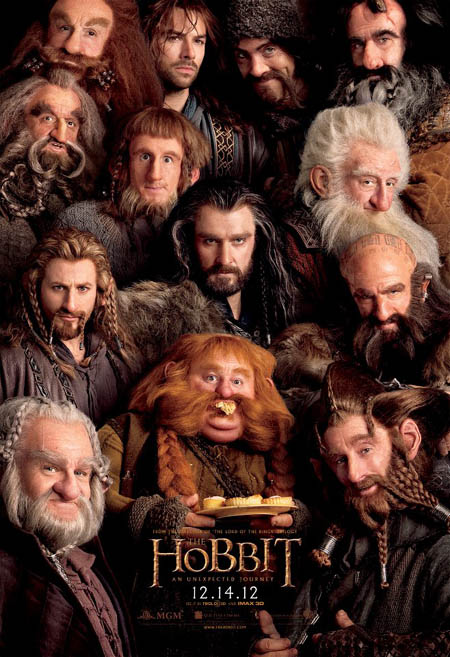 "Poster of the Peter Jackson movie ""The Hobbit'"