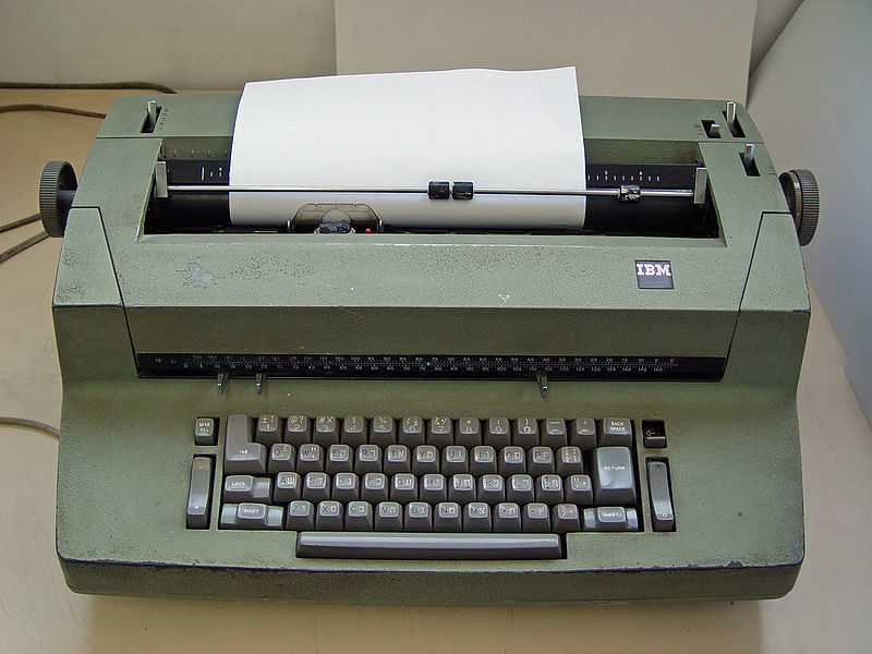 I.B.M. Selectric-II electric typewriter