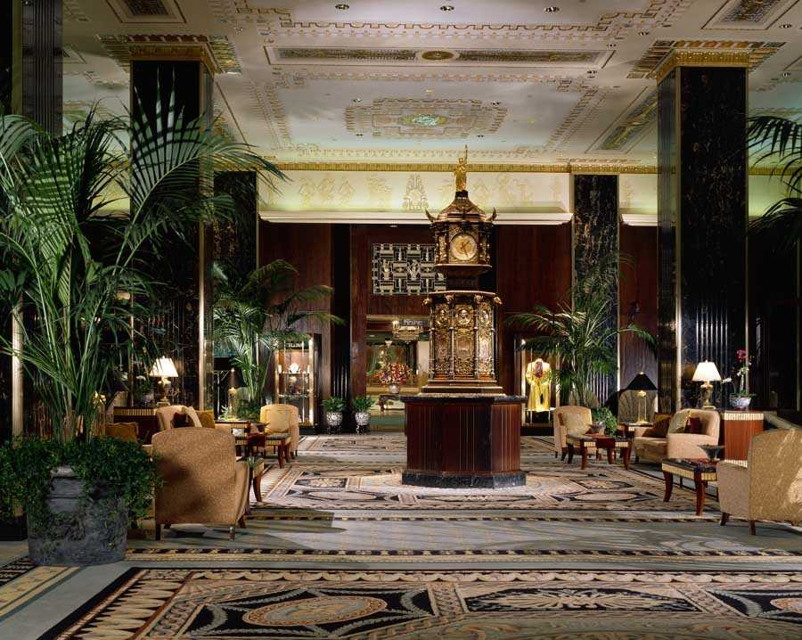 Lobby of the Waldorf-Astoria hotel (New York)
