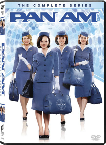 DVD cover of the TV series 'Pan Am'