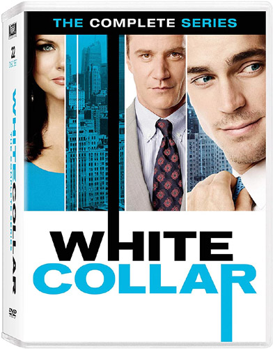 DVD cover of the TV series 'White Collar'