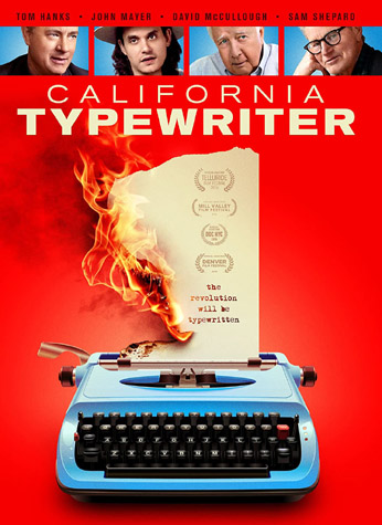 DVD cover of the Doug Nichol documentary 'California Typewriter'